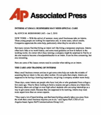 Associated Press 350X400